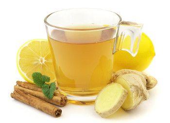 чай с сушеным имбирем для похудения