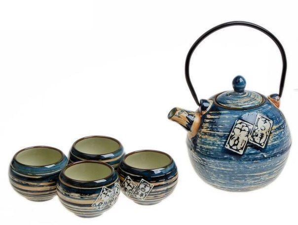 чай улун синий
