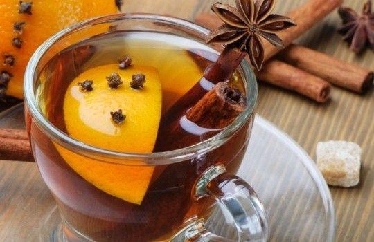 Чай с коньяком