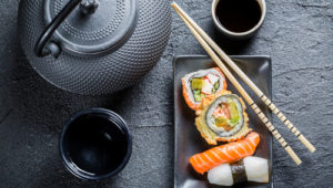 чай к суши
