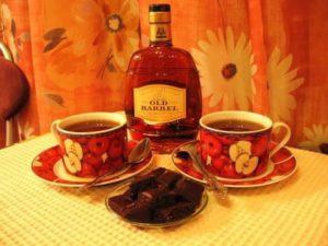 чай с алкоголем