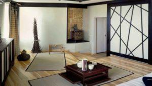 интерьер чайной комнаты